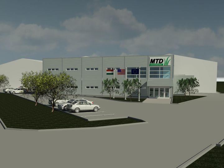 MTD szociális épület