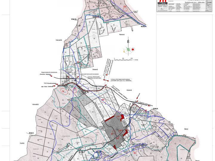 Szentgál településrendezési tervei