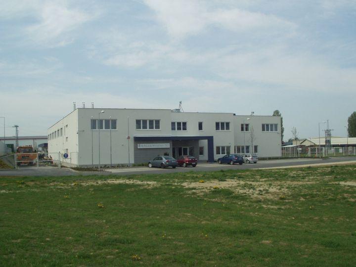 HUNGAROPHARMA Rt. logisztikai központ