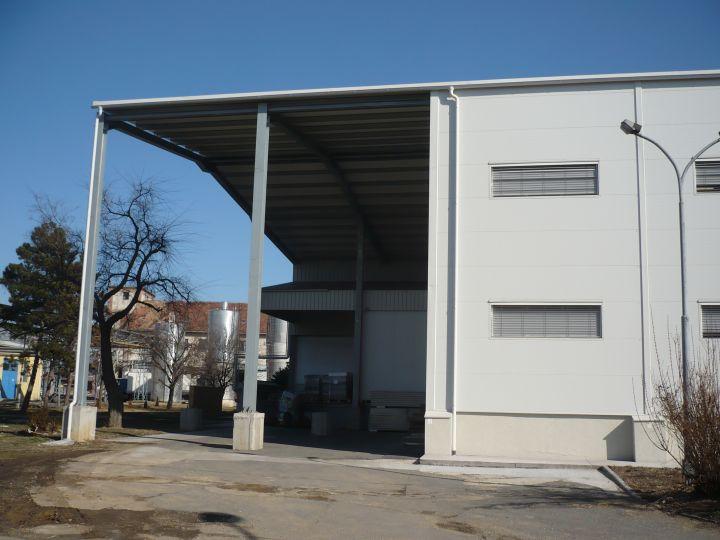 Pannontej Rt., ömlesztőüzem bővítése